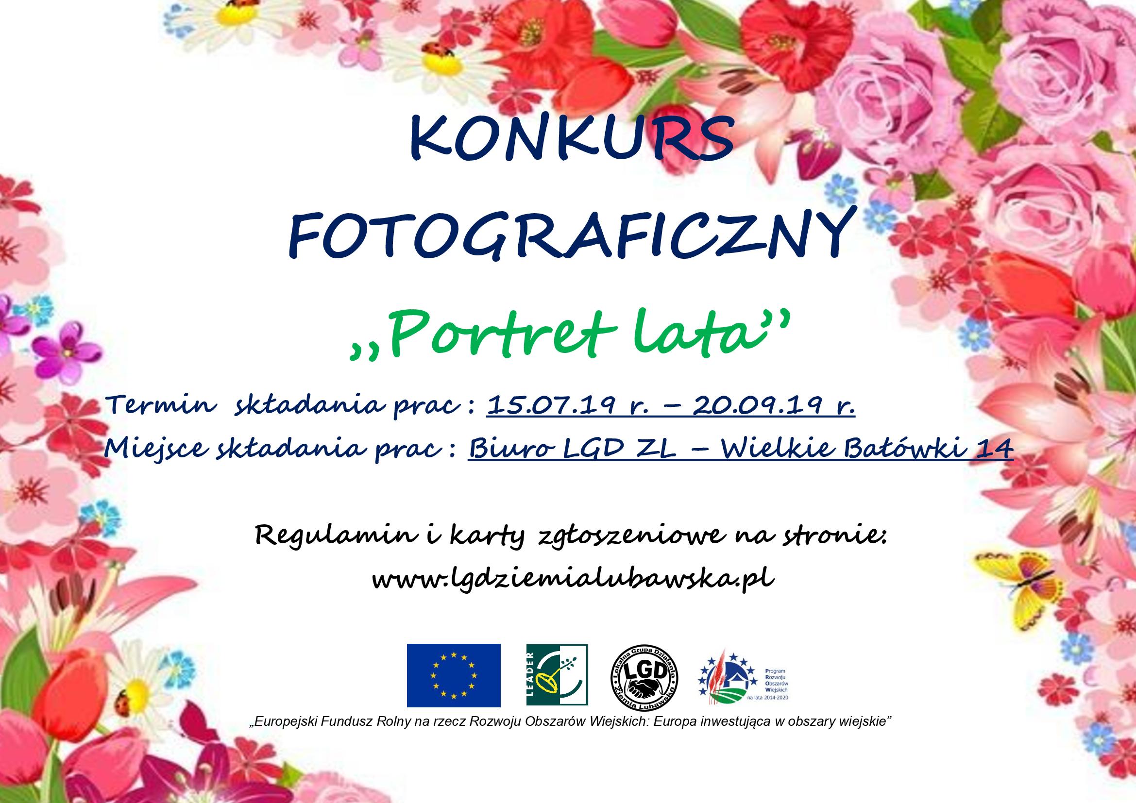 """Ilustracja do informacji: Konkurs Fotograficzny """"Portret Lata"""""""
