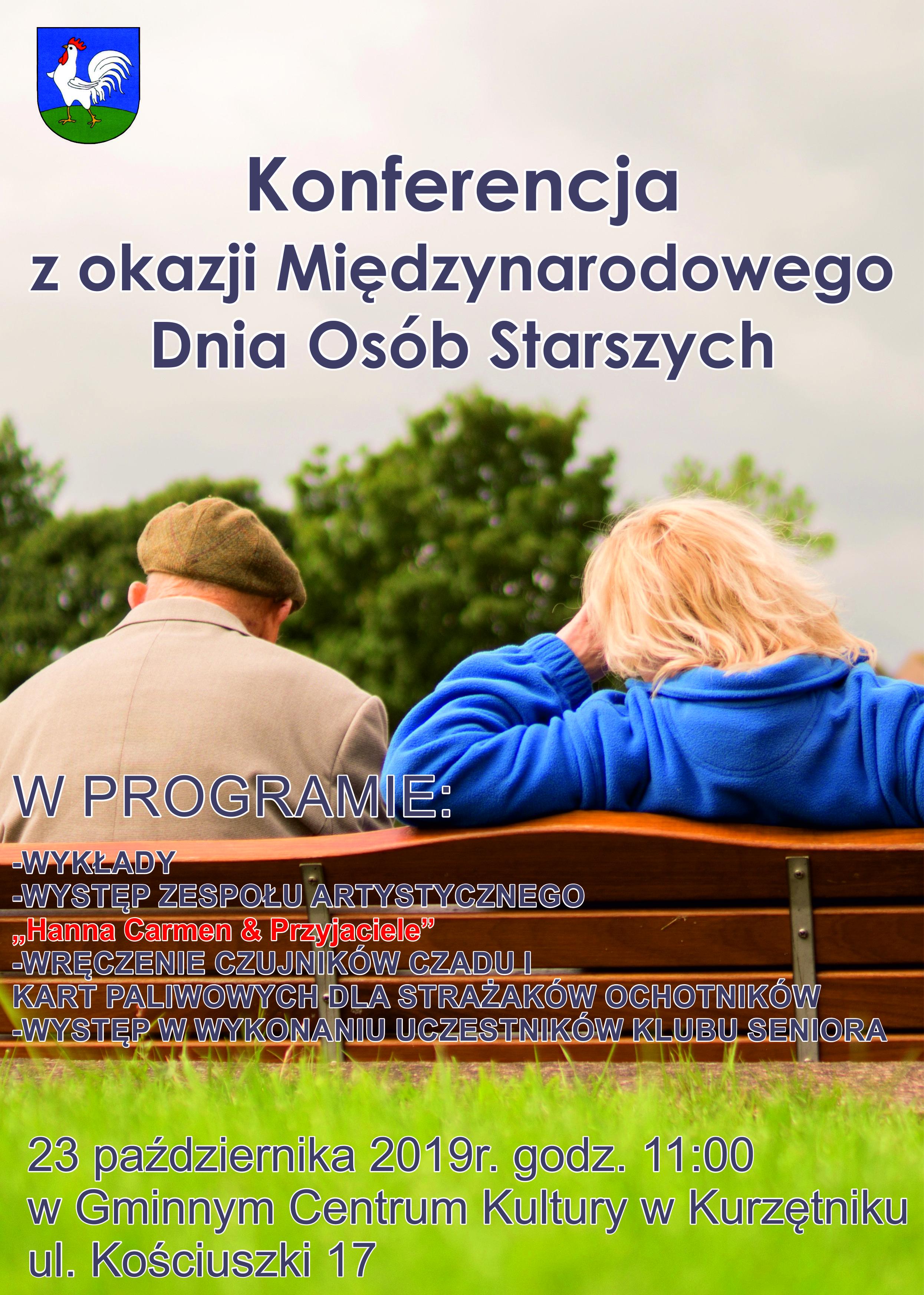 Ilustracja do informacji: Konferencja z okazji Międzynarodowego Dnia Osób Starszych
