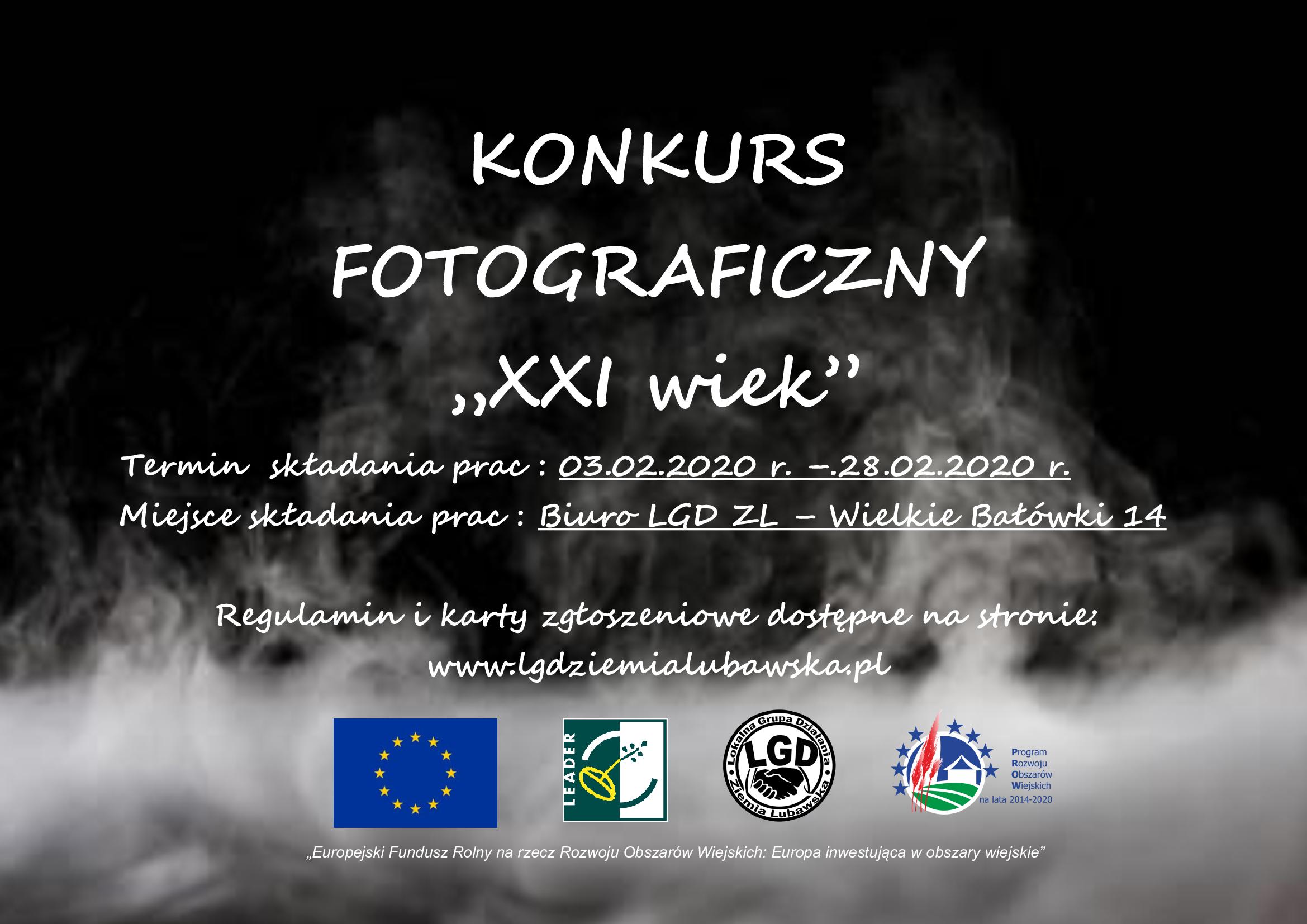 """Ilustracja do informacji: Konkurs Fotograficzny """"XXI wiek"""""""