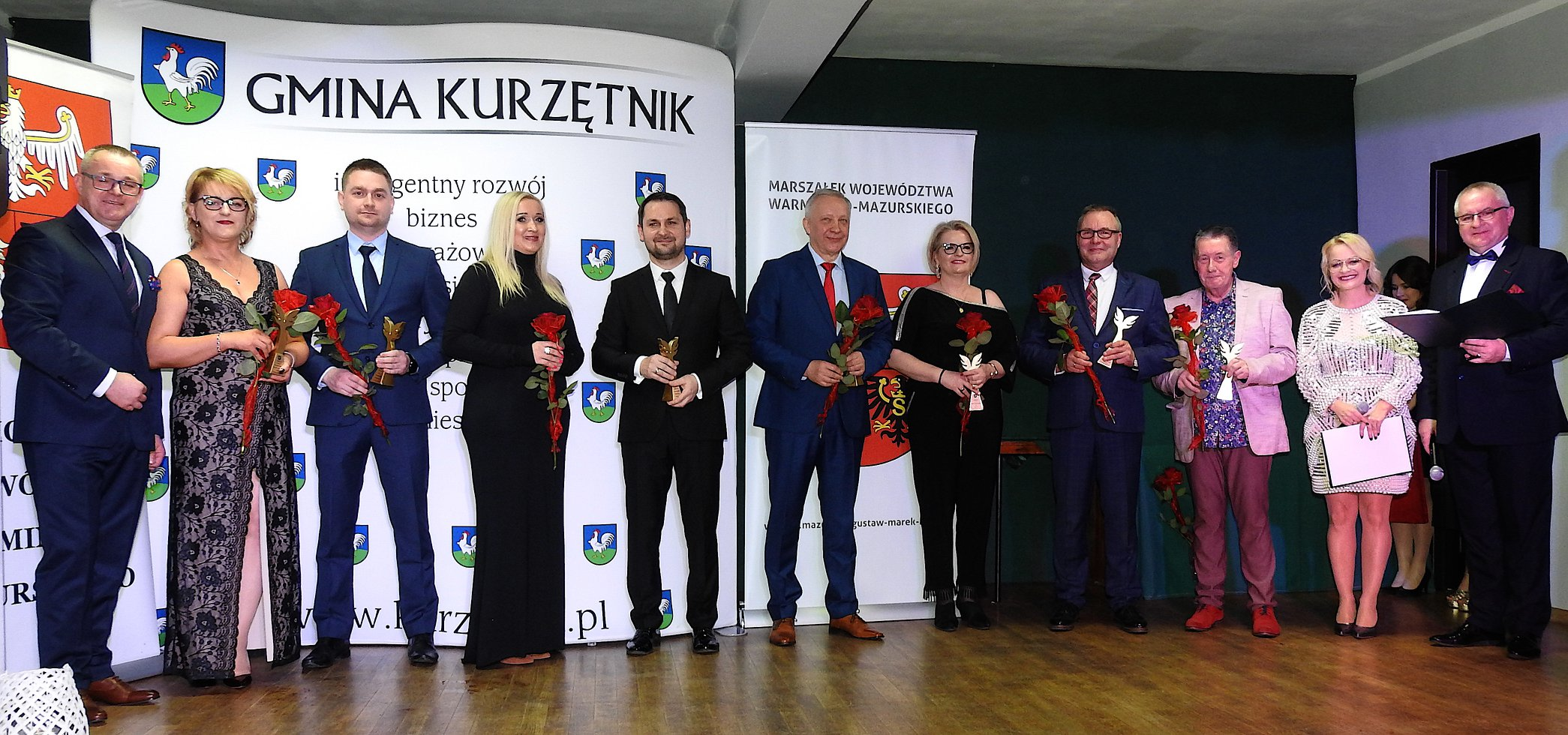 Ilustracja do informacji: Gala Biznesu '2020 w gminie Kurzętnik