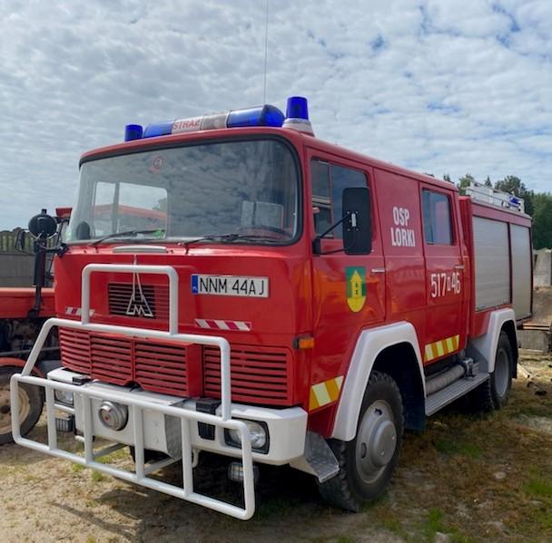 Ilustracja do informacji: Przetarg na sprzedaż samochodu pożarniczego stanowiącego własność Gminy Grodziczno
